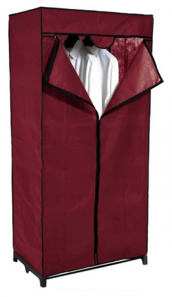 Látková skriňa Revow 8052, vínová