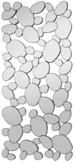 Nástenné zrkadlo BUBBLE 120x55 cm