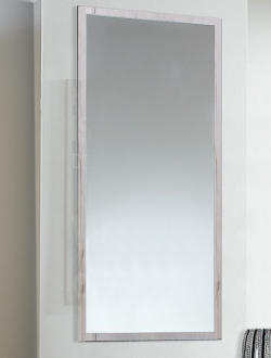 Nástenné zrkadlo Sunday, bielený dub