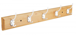 Nástenný vešiak Bamboo, šířka 61 cm