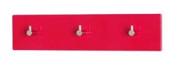 Nástenný vešiak Edmond 42456, červený lesk