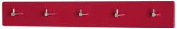 Nástenný vešiak Edmond 42457, červený lesk