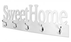 Nástenný vešiakový panel Sweet Home 28306