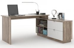 Písací stôl s komodou VENETO 01