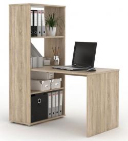 Písací stôl s regálom BEN 02