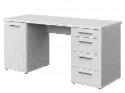 Písací stôl Walter, biely