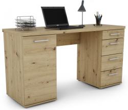 Písací stôl Walter, dub artisan