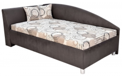 Rohová posteľ ANDREW ľavá 110x200