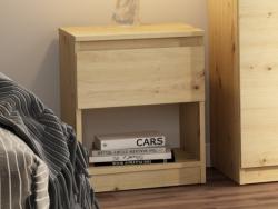 Skrinka /nočný stolík Carlos 401S, dub artisan