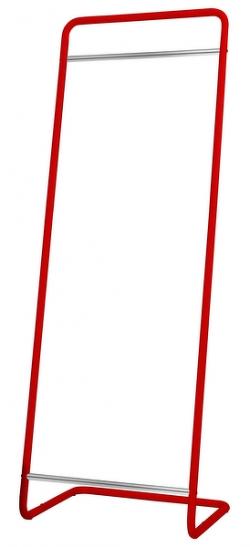 Stojací vešiak Modul 1520, červený