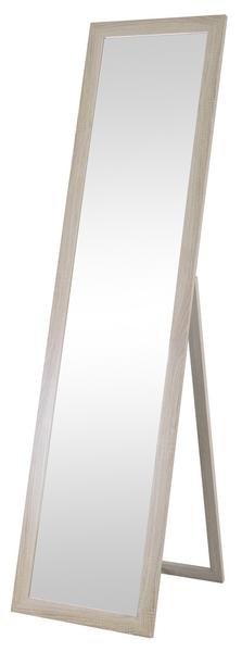 Stojacie zrkadlo Emilia-dub, 40x160 cm