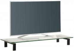 TV nádstavec Typ 1605 (110x35 cm), čierny