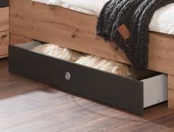 Úložná zásuvka pod posteľ Coventry, antracitová oceľ