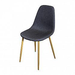 Jedálenská stolička COMO sivá