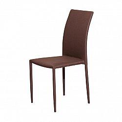 Jedálenská stolička PARMA hnedá