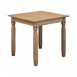 Jedálenský stôl 78x78 CORONA 2 vosk 16117