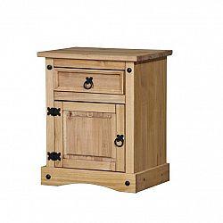 Nočný stolík CORONA vosk 16345