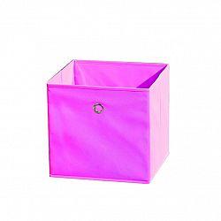 WINNY textilný box, ružový