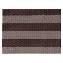 Béžovo-hnedé pruhované prestieranie Saleen Stripy