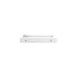Biela zásuvka pod postieľku BELLAMY Marylou, 60×120 cm