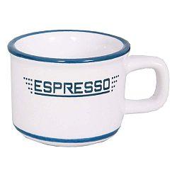 Biely keramický hrnček na espresso Antic Line Tasse