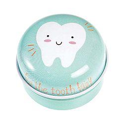 Červená plechová škatuľka Rex London Tooth Fairy