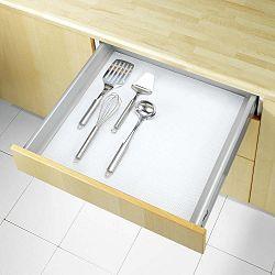 Čierna protišmyková podložka do zásuvky Wenko Anti Slip, 150 x 50 cm
