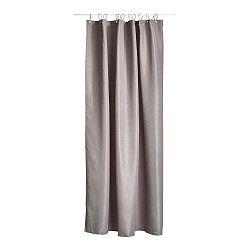 Čierny sprchový záves Zone Lux