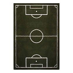 Detský zelený koberec Hanse Home Football Field, 120×170 cm