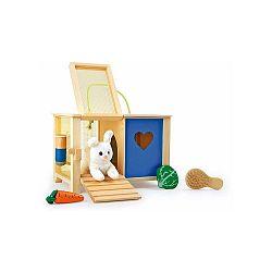 Drevená králikáreň na hranie Legler Rabbit