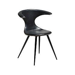 Hnedá koženková stolička DAN-FORM Denmark Flair