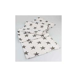 Hnedý behúň na stôl s hviezdami Dakls