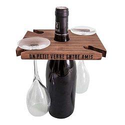 Hnedý stojan na víno Antic Line Entre Amis