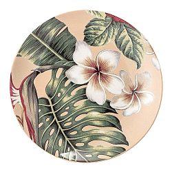 Kameninový plytký tanier Bloomingville Aruba Jungle, ⌀ 20 cm