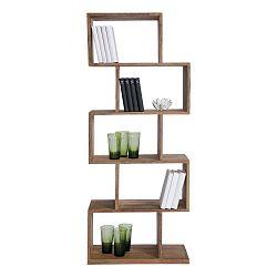 Knižnica z dreva Sheesham Kare Design Authentic Zickzack