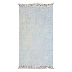 Koberec Vitaus Hali Geometrik Turkuaz, 80×150cm