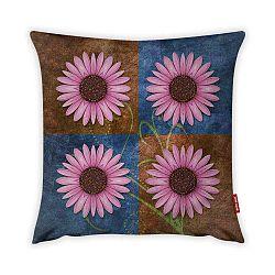 Obliečka na vankúš Vitaus Flower Quatrio Hanna, 43×43 cm