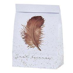 Papierové vrecúško Bloomingville Feather