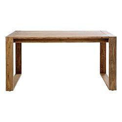 Pracovný stôl z dreva Sheesham Kare Design Nature