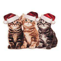 Rohožka Zala Living Christmas Cats Contour,×64cm