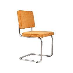 Sada 2 červených stoličiek Zuiver Ridge Rib