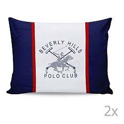 Sada 2 obliečok na vankúš Beverly Hills Polo Club Abbot