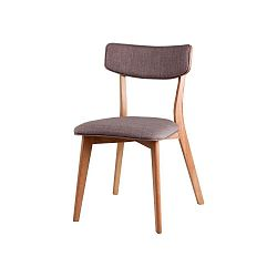 Sada 2 svetlosivých jedálenských stoličiek sømcasa Anais