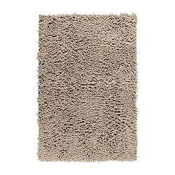 Sivá kúpeľňová predložka Wenko Chenille, 80×50 cm