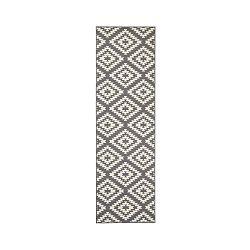 Sivo-biely behúň Hanse Home Jenny, 80×300 cm