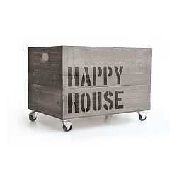 Sivý pojazdný bo× Really Nice Things Happy House