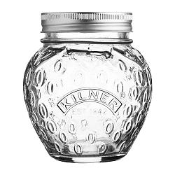 Sklenený zavárací pohár s viečkom Kilner Jahoda, 0,4 l