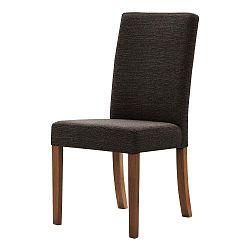 Tyrkysová stolička s tmavohnedými nohami Ted Lapidus Maison Tonka