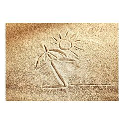 Vinylová predložka Sand, 52×75cm