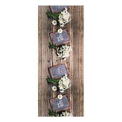 Vysokoodolný koberec Webtappeti Lavagna, 58×115cm